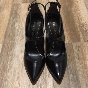 JS-Carmody Black Sleek Heels